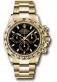 Exact Replica Rolex 116508 bki Daytona Yellow Gold Bracelet