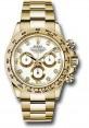 Exact Replica Rolex 116508 wd Daytona Yellow Gold Bracelet