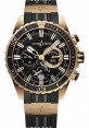 Replica Ulysse Nardin Diver Chronograph 44mm Rose Gold Black Dial 1502-151-3/92