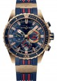 Replica Ulysse Nardin Diver Chronograph 44mm Rose Gold Blue Dial 1502-151LE-3/93-HAMMER