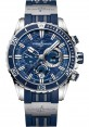 Replica Ulysse Nardin Diver Chronograph 44mm Stainless Steel Blue Dial 1503-151-3/93
