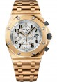 Exact Replica Audemars Piguet Royal Oak Offshore Chronograph Pink Gold 26170OR.OO.1000OR.01