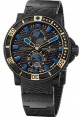 Replica Ulysse Nardin Diver Black Sea Blue Sea Rose Gold 263-92LE-3C/923-RG