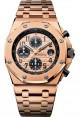 Exact Replica Audemars Piguet Royal Oak Offshore Chronograph Pink Gold 26470OR.OO.1000OR.01