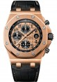 Exact Replica Audemars Piguet Royal Oak Offshore Chronograph Pink Gold 26470OR.OO.A002CR.01