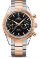 Exact Replica Omega Speedmaster 57 Co-Axial Chronograph 41.5 mm Steel And Red Gold 331.20.42.51.01.002