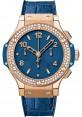 Replica Hublot Big Bang Tutti Frutti Dark Blue Red Gold 41mm Diamonds 341.PL.5190.LR.1104