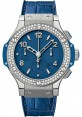 Replica Hublot Big Bang Tutti Frutti Dark Blue Steel 41mm Diamonds 341.SL.5190.LR.1104