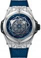 Replica Hublot Big Bang 45mm Sang Bleu Titanium 415.NX.7179.VR.MXM18