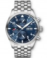 Replica IWC Pilots Chronograph Edition Le Petit Prince Stainless Steel IW377717