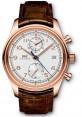 Replica IWC Portuguese Chronograph Classic Red Gold Silver IW390402