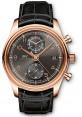 Replica IWC Portuguese Chronograph Classic Red Gold Ardoise IW390405