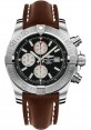 Exact Replica Breitling Super Avenger II A1337111/BC29 Brown Leather Strap