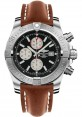 Exact Replica Breitling Super Avenger II A1337111/BC29 Gold Leather Strap