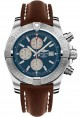 Exact Replica Breitling Super Avenger II A1337111/C871 Brown Leather Strap
