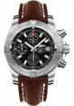 Exact Replica Breitling Avenger II Brown Leather Strap Black Dial A1338111/BC32 Watch