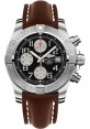 Exact Replica Breitling Avenger II Black Dial Brown Leather Strap A1338111/BC33 Watch