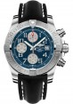 Exact Replica Breitling Avenger II Black Leather Strap Blue Dial A1338111/C870 Watch