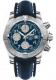 Exact Replica Breitling Avenger II Blue Leather Strap Blue Dial A1338111/C870 Watch
