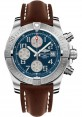 Exact Replica Breitling Avenger II Brown Leather Strap Blue Dial A1338111/C870 Watch