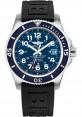 Exact Replica Breitling Superocean II 42mm Blue Dial Black Diver Pro III Strap A17365D1/C915 Watch