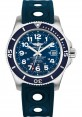 Exact Replica Breitling Superocean II 42mm Blue Dial Blue Ocean Racer II Strap A17365D1/C915 Watch