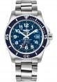 Exact Replica Breitling Superocean II 42mm Blue Dial Stainless Steel Professional III Bracelet A17365D1/C915 Watch