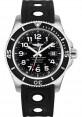 Exact Replica Breitling Superocean II 44mm Black Dial Black Ocean Racer II Strap A17392D7/BD68 Watch
