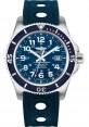 Exact Replica Breitling Superocean II 44mm Blue Dial Blue Ocean Racer II Strap A17392D8/C910 Watch