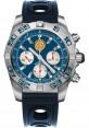 Replica Breitling Chronomat 44 Steel Patrouille de France Blue Ocean Racer Strap AB01109E/C886