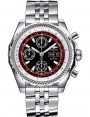 Replica Breitling Bentley GT II Black Dial Stainless Steel Automatic Chronograph