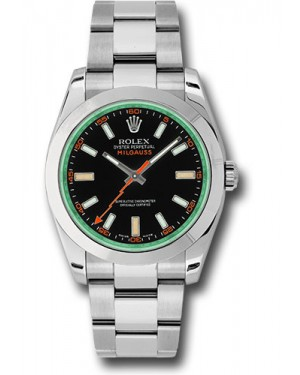 Exact Replica Rolex Milgauss 116400V bko Watch