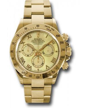 Exact Replica Rolex 116528 ymr Daytona Yellow Gold Bracelet
