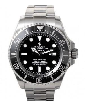 Replica Rolex Sea-Dweller Deepsea Black Dial 116660
