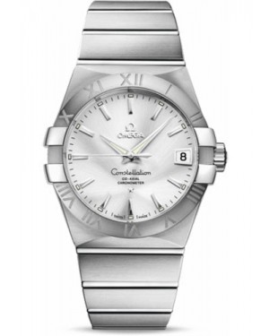 Replica Omega Constellation 38mm Stainless Steel 123.10.38.21.02.001