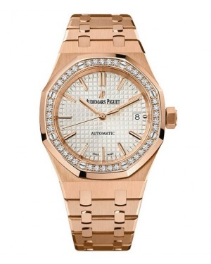 Exact Replica Audemars Piguet Royal Oak Lady Automatic 37mm Pink Gold 15451OR.ZZ.1256OR.01 Watch