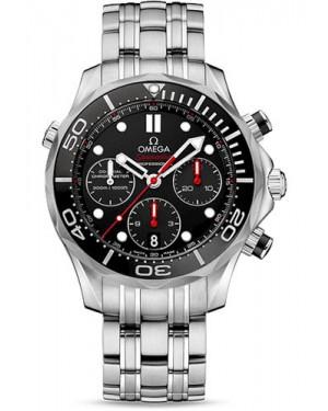 Exact Replica Omega Seamaster Diver 300M Automatic Chronograph 44 mm 212.30.44.50.01.001