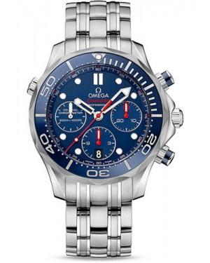 Exact Replica Omega Seamaster Diver 300M Automatic Chronograph 44 mm 212.30.44.50.03.001
