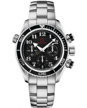 Replica Omega Seamaster Planet Ocean 600M 37.5mm Olympic Timeless Chronograph 222.30.38.50.01.003