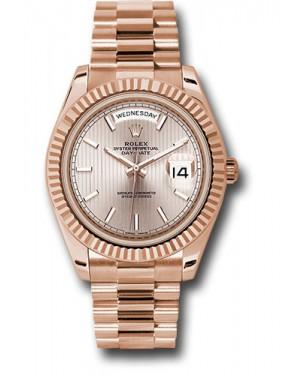 Exact Replica Rolex Day-Date 40 228235 sdsmip Everose Gold Watch