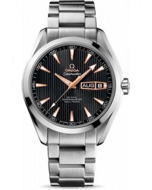 Exact Replica Omega Seamaster Aqua Terra 150M Annual Calendar 43 mm White Gold 231.50.43.22.01.001 Watch