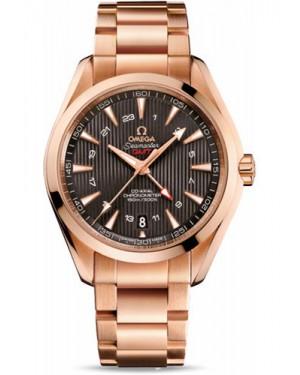Exact Replica Omega Seamaster Aqua Terra 150M GMT 43 mm Red Gold 231.50.43.22.06.002 Watch