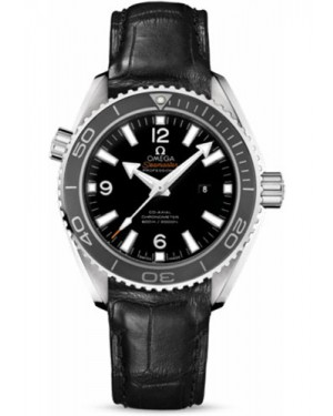 Exact Replica Omega Seamaster Planet Ocean 600M Co-Axial 37.5mm Stainless Steel Leather Strap 232.33.38.20.01.001 Watch