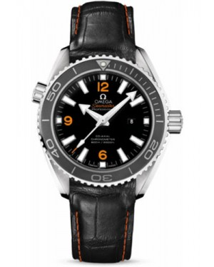 Exact Replica Omega Seamaster Planet Ocean 600M Co-Axial 37.5mm Stainless Steel Leather Strap 232.33.38.20.01.002 Watch