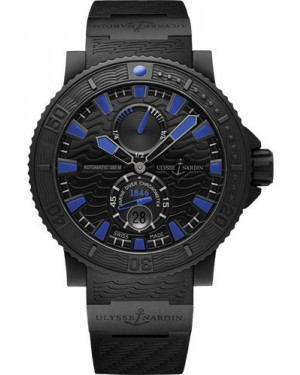 Replica Ulysse Nardin Diver Black Sea Blue Sea Blue Index 263-92-3C/923