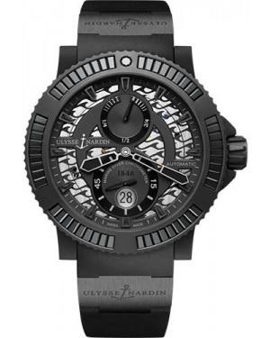 Replica Ulysse Nardin Diver Black Sea Black 263-92B2-3C/922