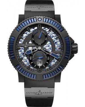 Replica Ulysse Nardin Diver Black Sea Blue 263-92B3-3C/923