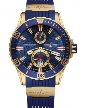 Replica Ulysse Nardin Diver Chronometer 44mm Rose Gold 266-10-3/93