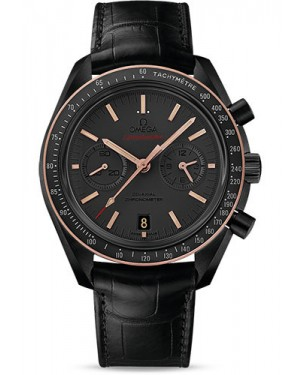 Exact Replica Omega Speedmaster Moonwatch Co-Axial Chronograph 44.25 mm Black Ceramic 311.63.44.51.06.001