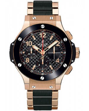 Replica Hublot Big Bang 41mm Red Gold And Ceramic 341.PB.131.PB
